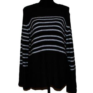 NWT Workshop Bell Sleeve Stripped Sweater size XL